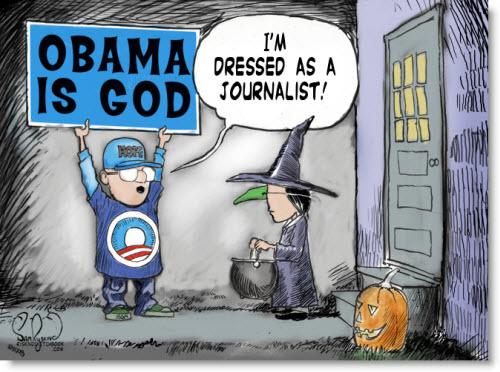 halloween-political-cartoon-dressed-as-journalist-obama-is-god