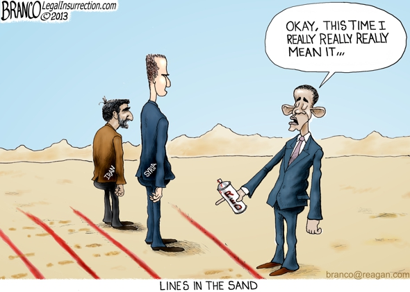 Obama's Red Lines — Videos | Pronk Palisades