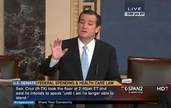 Cruz Filibuster, Senate Rule XXII — The Cloture Rule Requires 60 ...