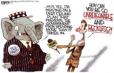 Cartoon - Tea Party