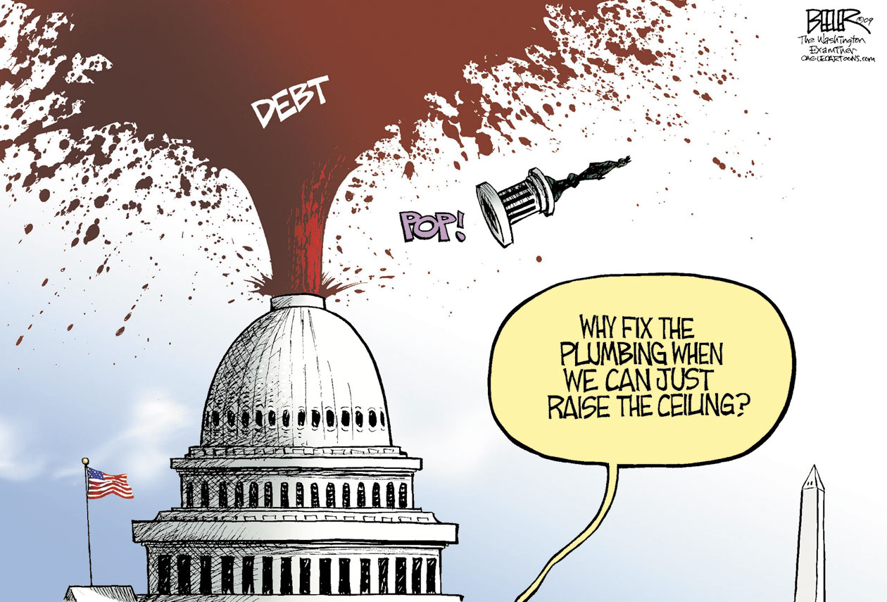 debt ceiling The united states debt ceiling or debt limit is a legislative limit on the amount of  national debt that can be incurred by the us treasury, thus limiting how much.
