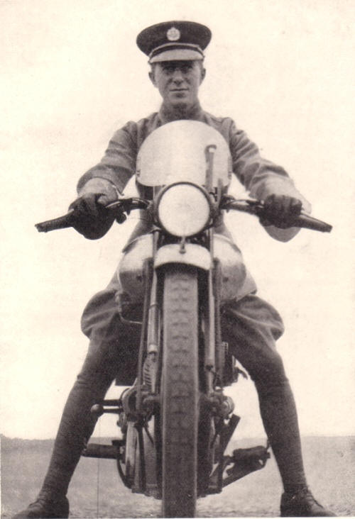 Lawrence d'Arabia motocycle