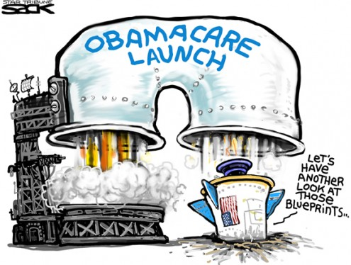 obamacare-glitches-cartoon-sack-495x374
