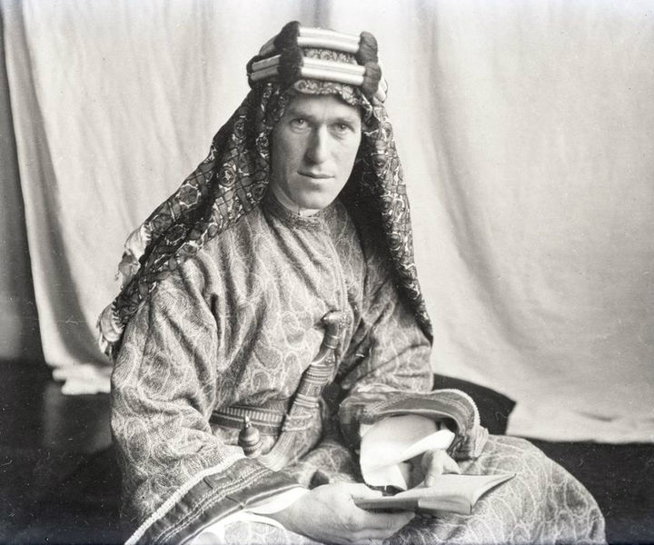 T.E. Lawrence and Lawrence of Arabia — Photos and Videos ...