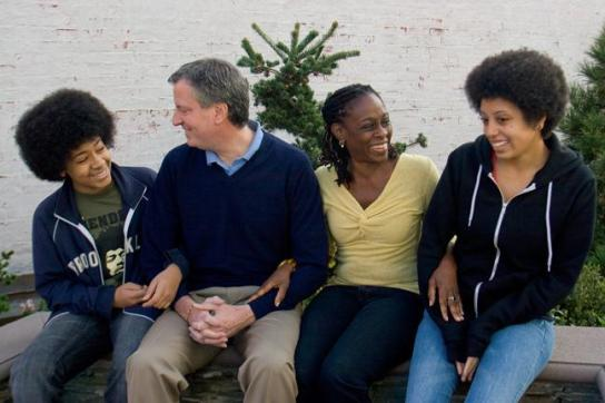 Bill-de-Blasio_familly