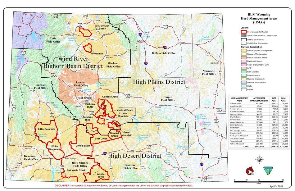 When Will Bureau Of Land Management BLM Roundup 2000