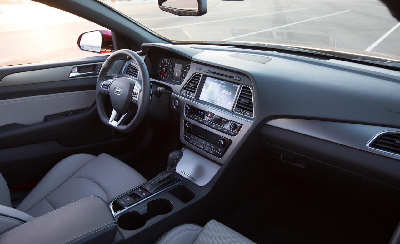 ... 2015 Hyundai Sonata Sport 20t Interior Photo 624988  ...
