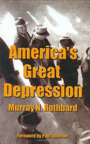 America's Great DepressionL