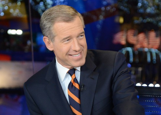 brian williams smiling