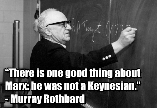 murray rothbard keynesian