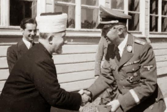 Heinrich Himmler - Haj Amin