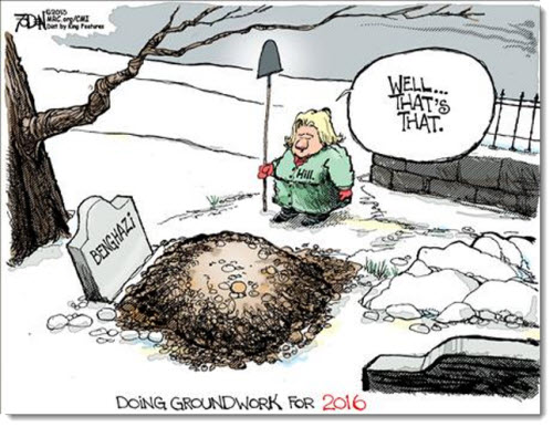 hillary-clinton-what-difference-does-it-make-burying-benghazi-groundwork-2016-political-cartoon