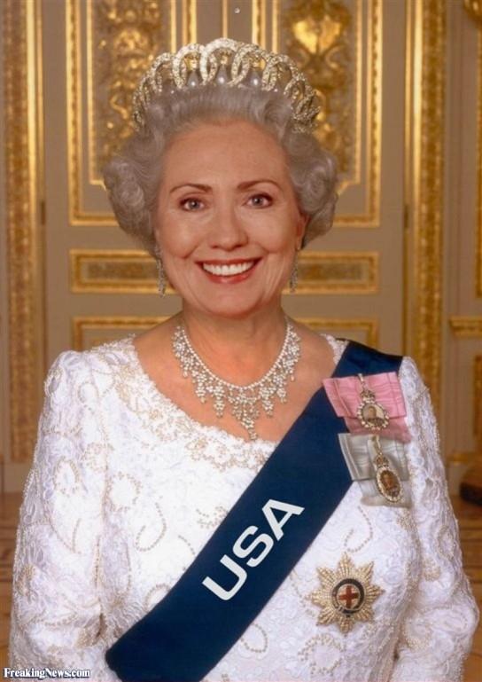 Queen-Hillary-Clinton