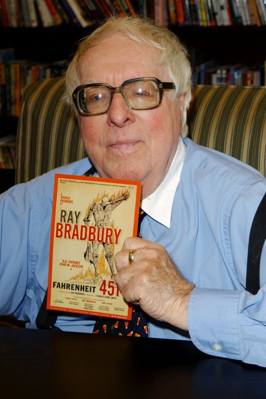 a biography of ray bradbury the american science fiction author Becoming ray bradbury chronicles the making of an iconic american writer by exploring ray bradbury's childhood and early years of his long becoming ray bradbury reveals bradbury's emotional world as it matured through his a very bradburyian biography--science fiction research.