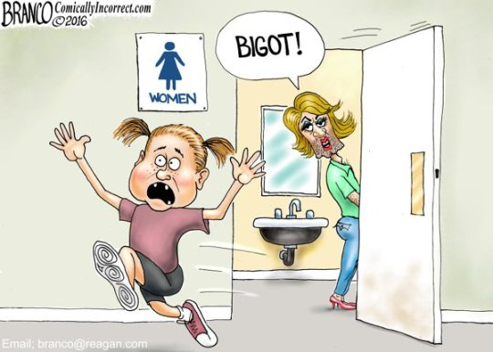 bigot cartoon