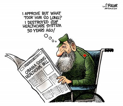 Image result for CARTOONS ABOUT FIDEL CASTRO