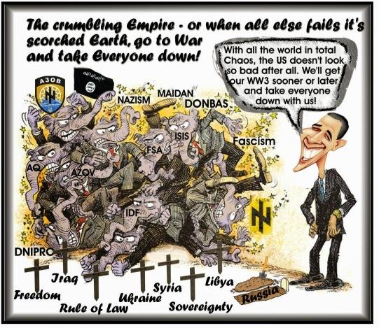 Image result for cartoons master of destruction obama