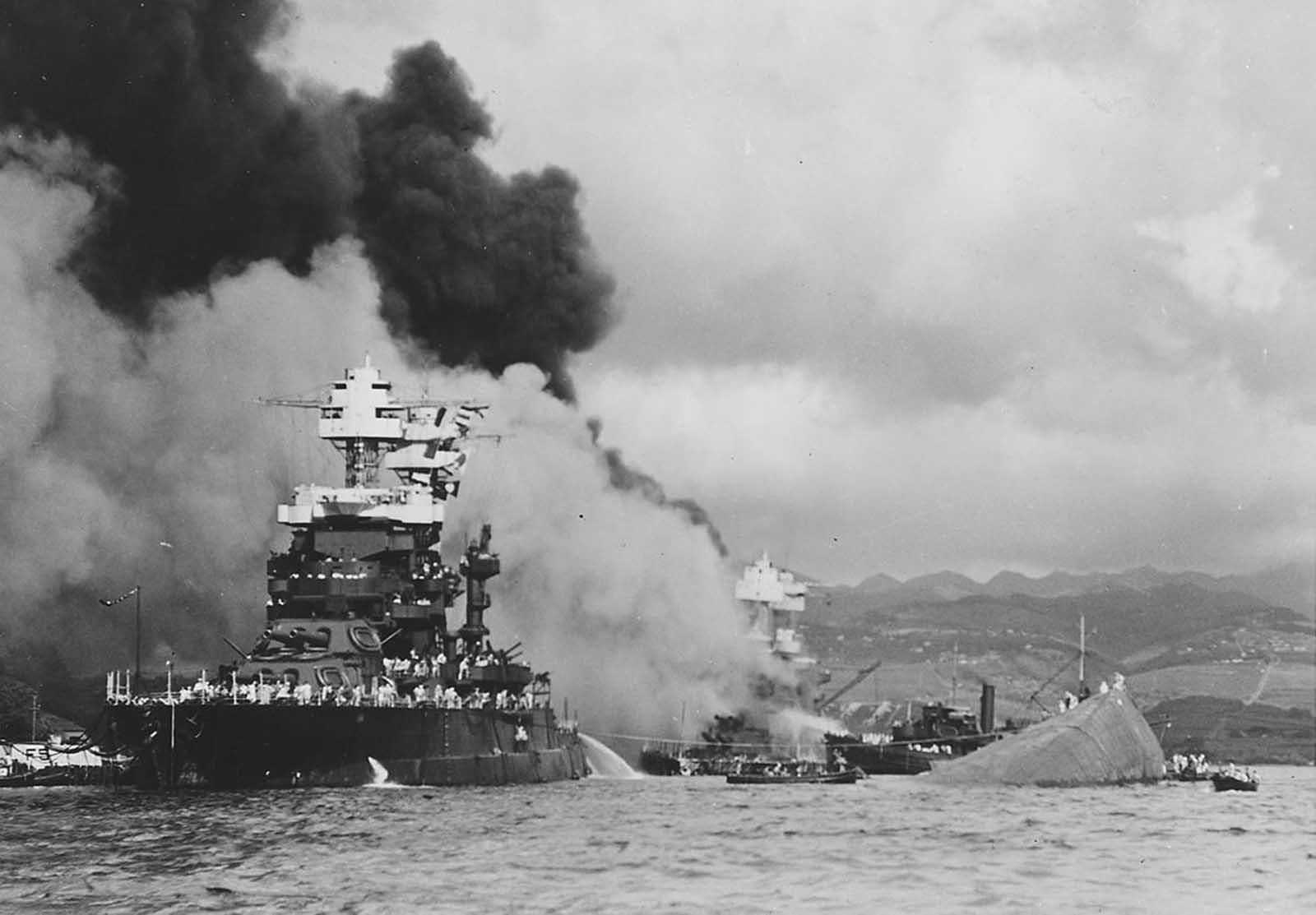World War II - Attack on Pearl Harbor. Watch Full ... |World War 2 Bombing Of Pearl Harbor